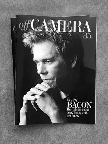 Off Camera Issue 35 Kevin Bacon