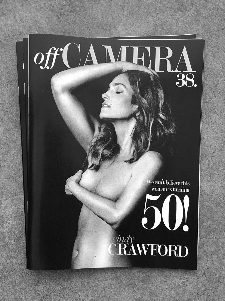 Off Camera Issue 38 Cindy Crawford