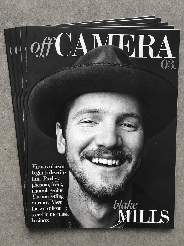 Off Camera Issue 003 Blake Mills