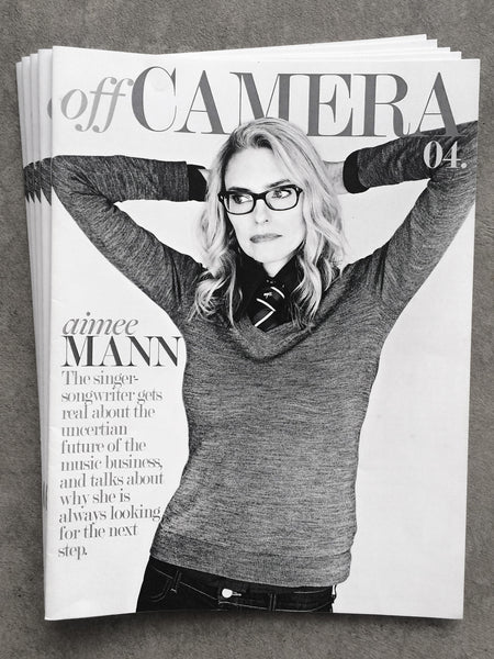 Off Camera Issue 004 Aimee Mann