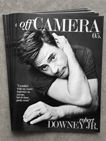 Off Camera Issue 005 Robert Downey Jr.