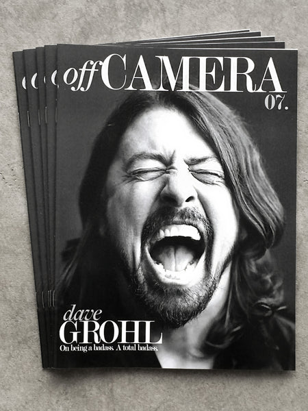 Digital Version - Off Camera Issue 007 Dave Grohl
