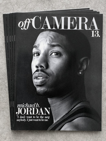 Off Camera Issue 013 Michael B. Jordan