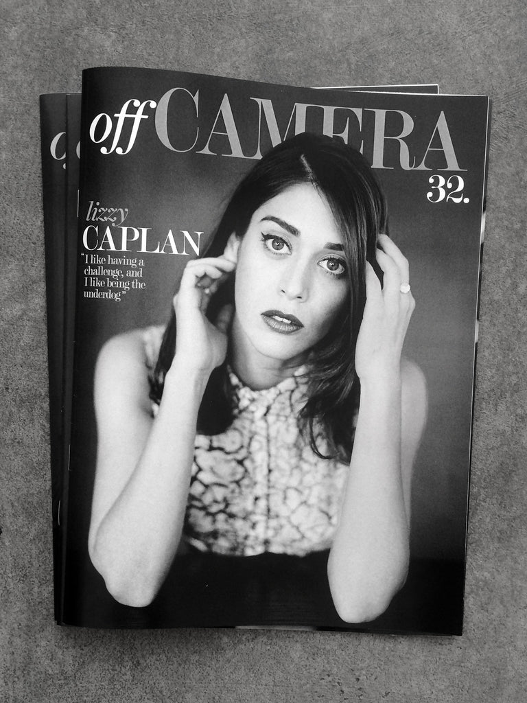 Off Camera Issue 32 Lizzy Caplan