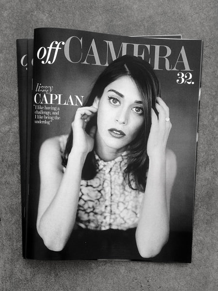 Digital Version - Off Camera Issue 32 Lizzy Caplan