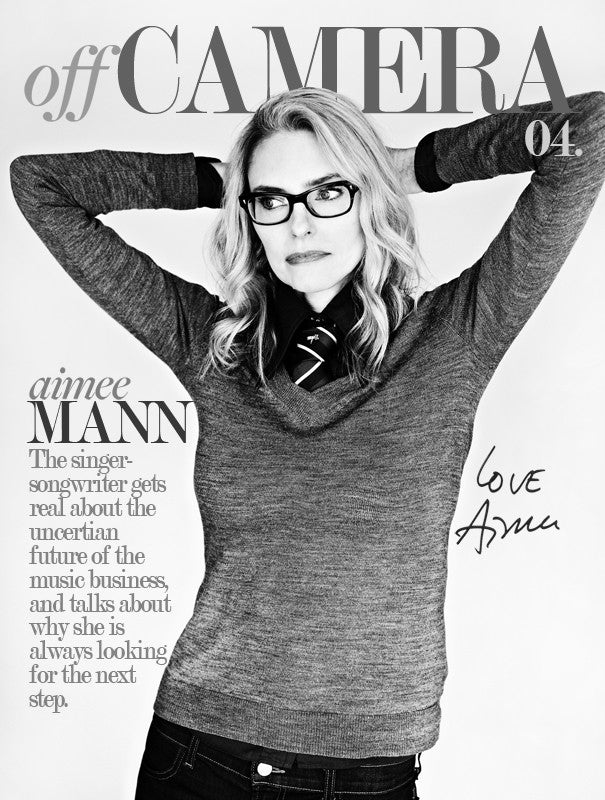 Off Camera Special Edition Signed Issue 004 Aimee Mann