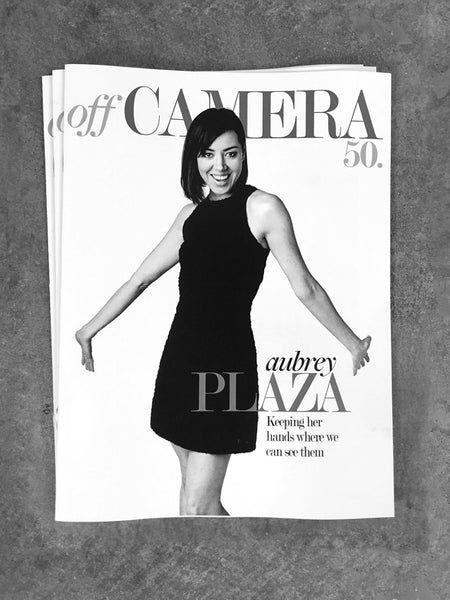 Digital Version - Off Camera 50 Aubrey Plaza