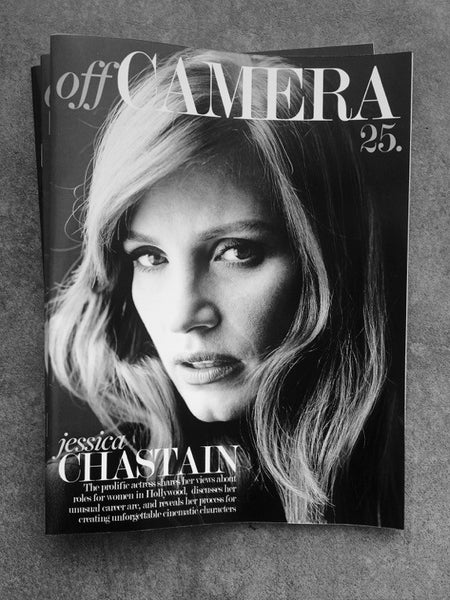 Off Camera Issue 025 Jessica Chastain