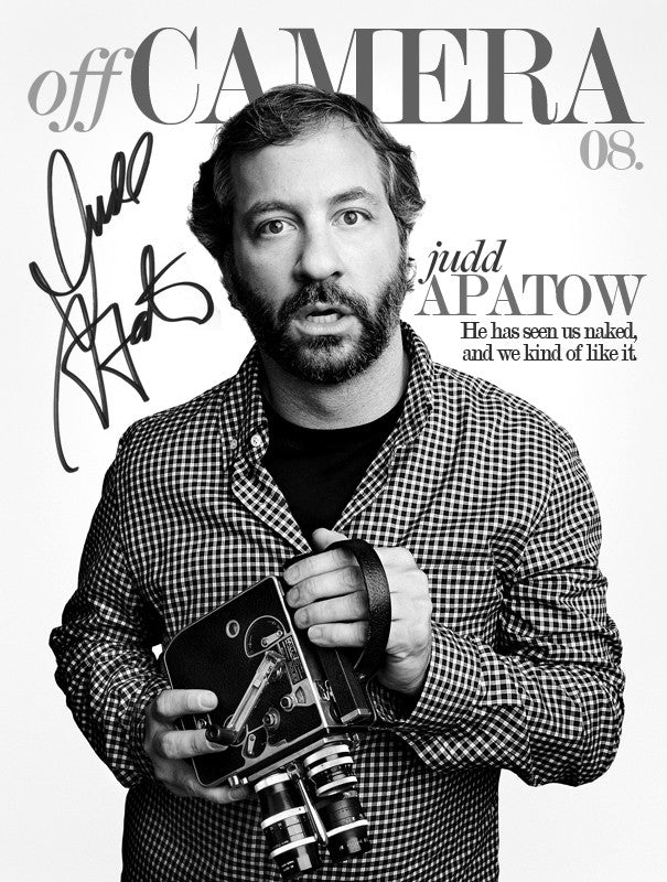 Off Camera Special Edition Signed Issue 008 Judd Apatow