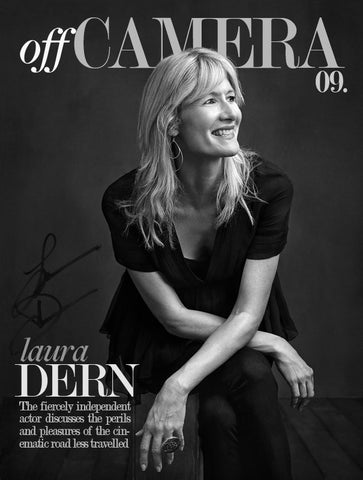 Off Camera Special Edition Signed Issue 009 Laura Dern