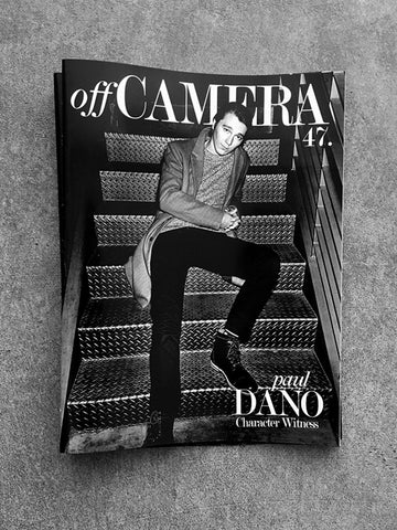 Digital Version - Off Camera 47 Paul Dano