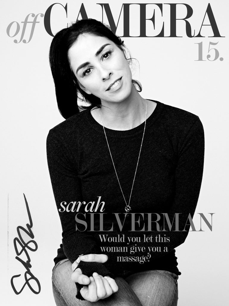Off Camera Special Edition Signed Issue Sarah Silverman 014