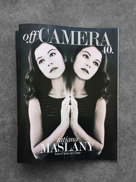 Digital Version - Off Camera 40 Tatiana Maslany