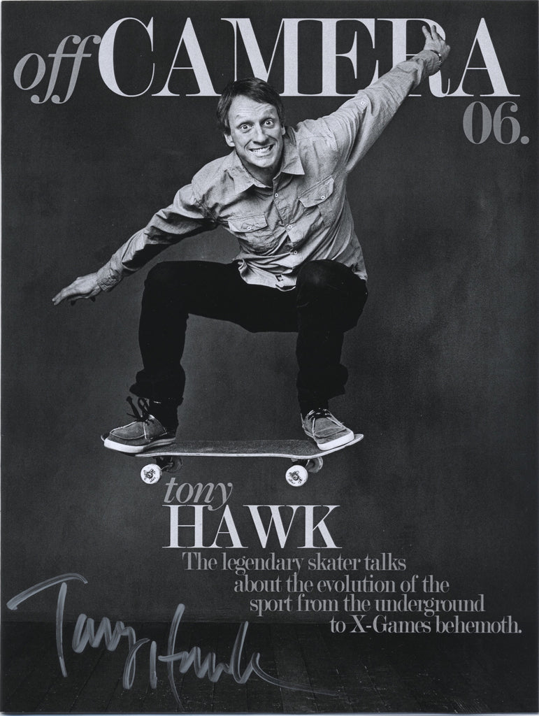 Off Camera Special Edition Signed Issue 006 Tony Hawk
