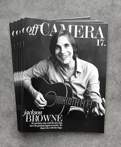 Off Camera Issue 017 Jackson Browne