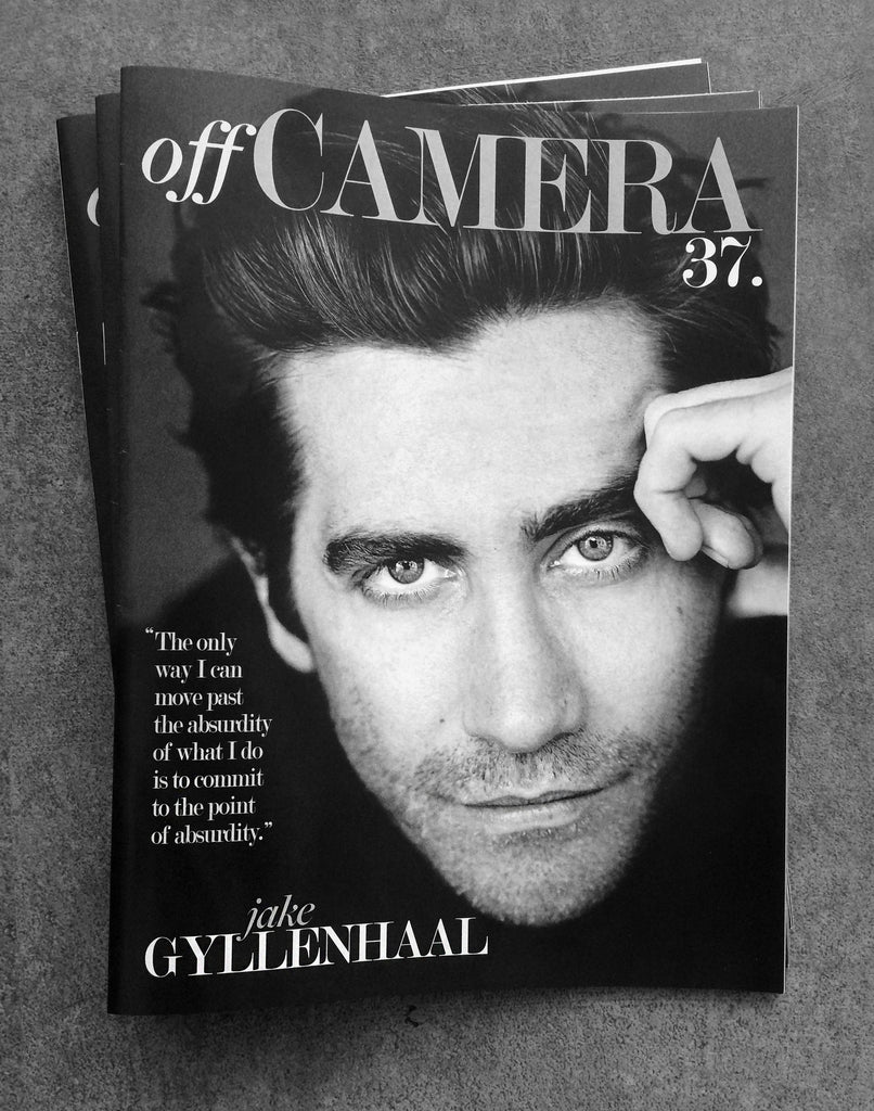Off Camera Issue 37 Jake Gyllenhaal