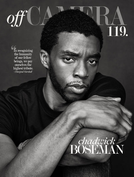 Digital Version - Off Camera 119 Chadwick Boseman