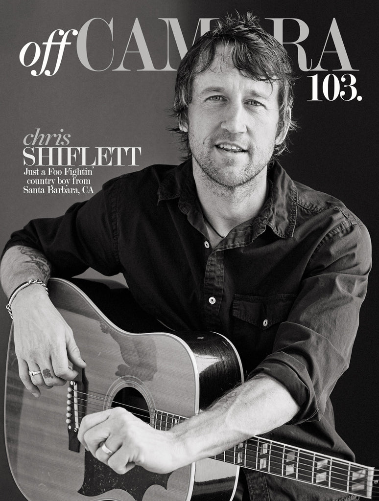Off Camera Special Edition Signed Issue 103 Chris Shiflett