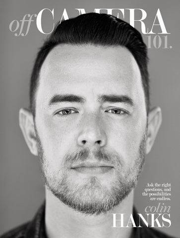 Digital Version - Off Camera 101 Colin Hanks