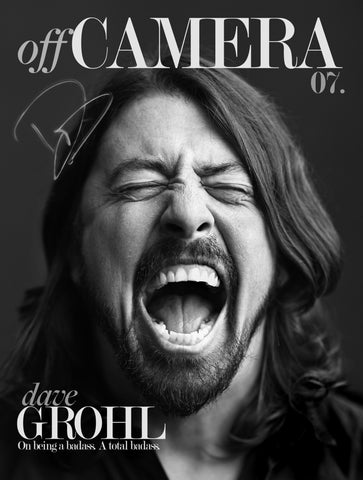 Special Edition Signed Issue 007 Dave Grohl