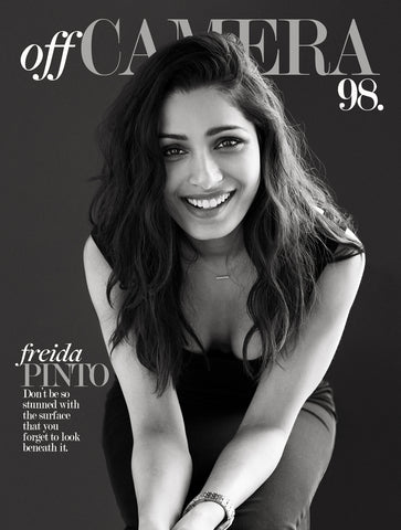 Digital Version - Off Camera 98 Freida Pinto