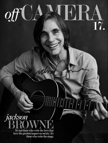 Off Camera Special Edition Signed Issue 017 Jackson Browne