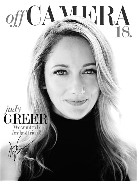 Off Camera Special Edition Signed Issue 18 Judy Greer
