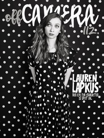 Digital Version - Off Camera 112 Lauren Lapkus