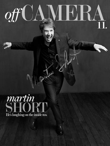 Off Camera Special Edition Signed Issue 011 Martin Short