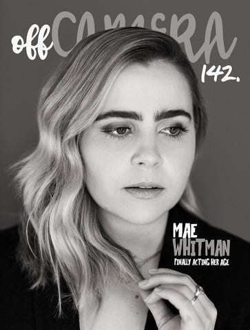 Digital Version - Off Camera 142 Mae Whitman