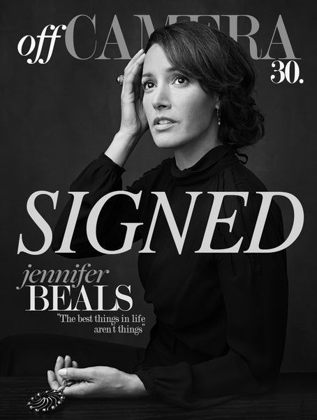 Off Camera Special Edition Signed Issue 30 Jennifer Beals