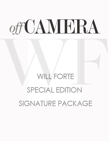 Off Camera Special Edition Will Forte Signature Package
