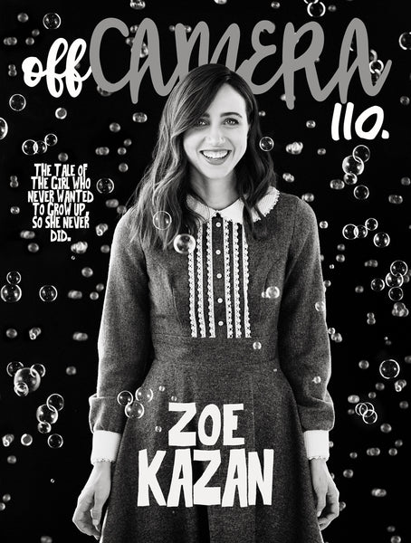 Digital Version - Off Camera 110 Zoe Kazan