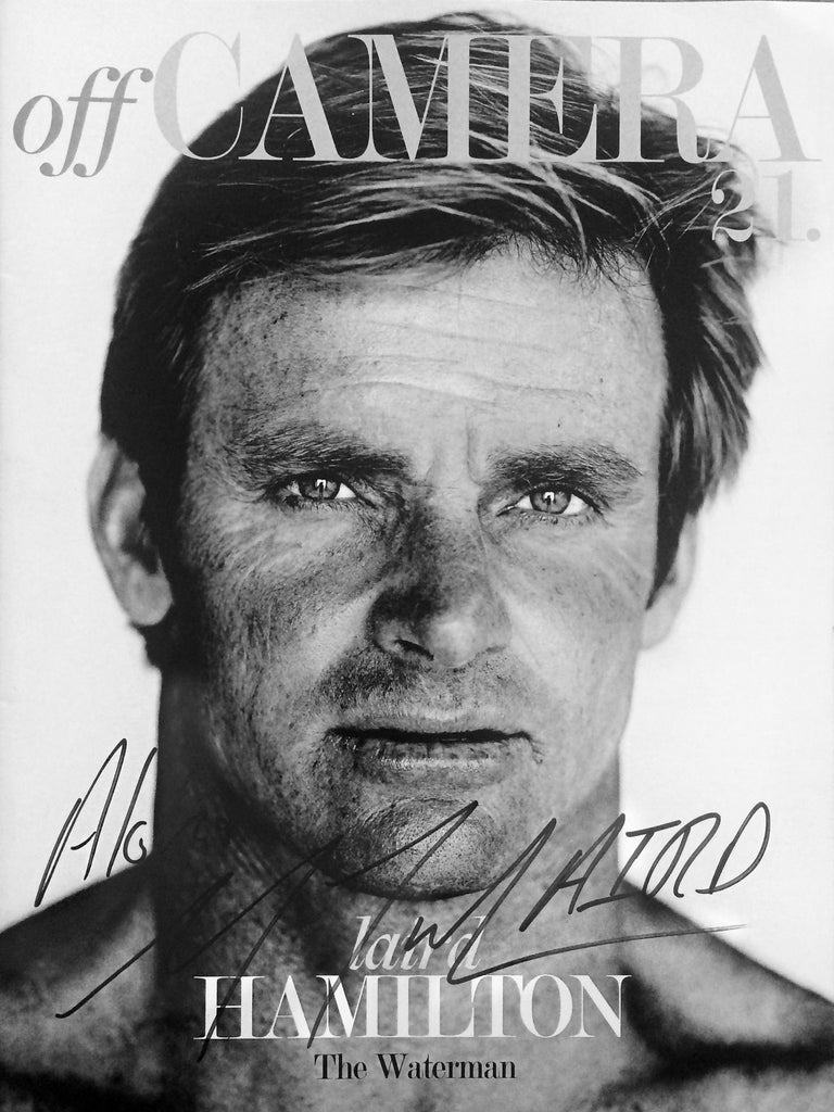Off Camera Special Edition Signed Issue 21 Laird Hamilton