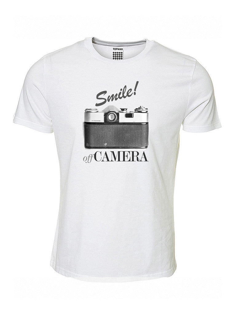 Off Camera Tee-Shirt: Smile