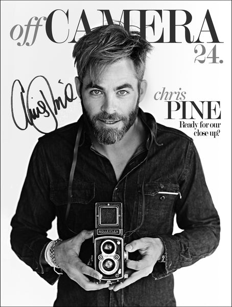 Off Camera Special Edition Signed Issue 24 Chris Pine