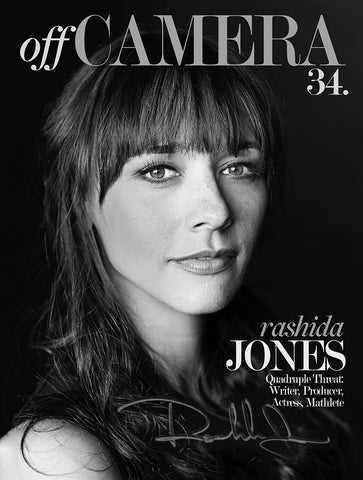 Off Camera Special Edition Signed Issue 34 Rashida Jones