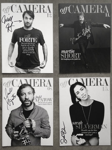 Off Camera Special Edition Signed Comedy Package