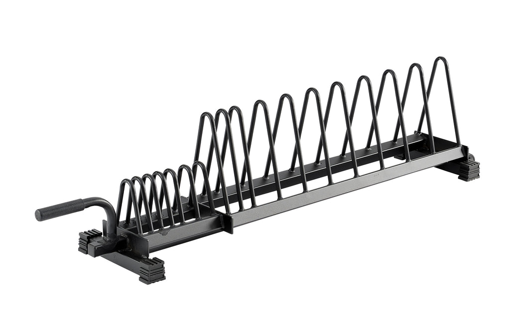 Horizontal Plate Rack - Bumpers & Metal Plates - MaxWOD Fitness - 1