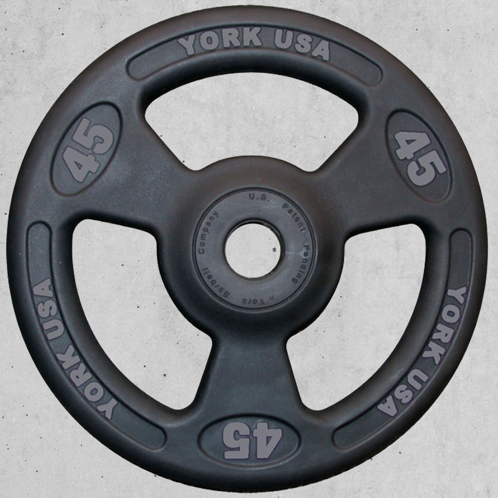 YORK Bumper Grip Rubber Training Bumpers - Bumpers & Metal Plates - MaxWOD Fitness - 1