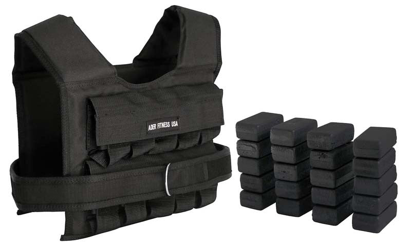 Weight Vest (45lbs) - Conditioning - MaxWOD Fitness