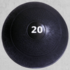 Ader No-Bounce Slam Ball Black - Medicine Balls - MaxWOD Fitness - 1