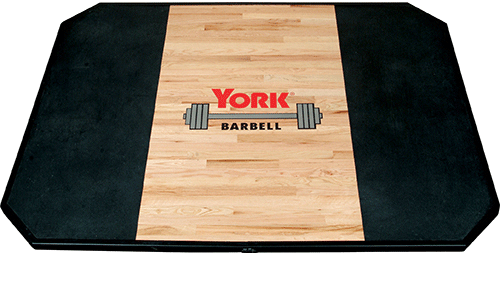 York Solid Red Oak Olympic Weightlifting Platform - Strength Equipment - MaxWOD Fitness
