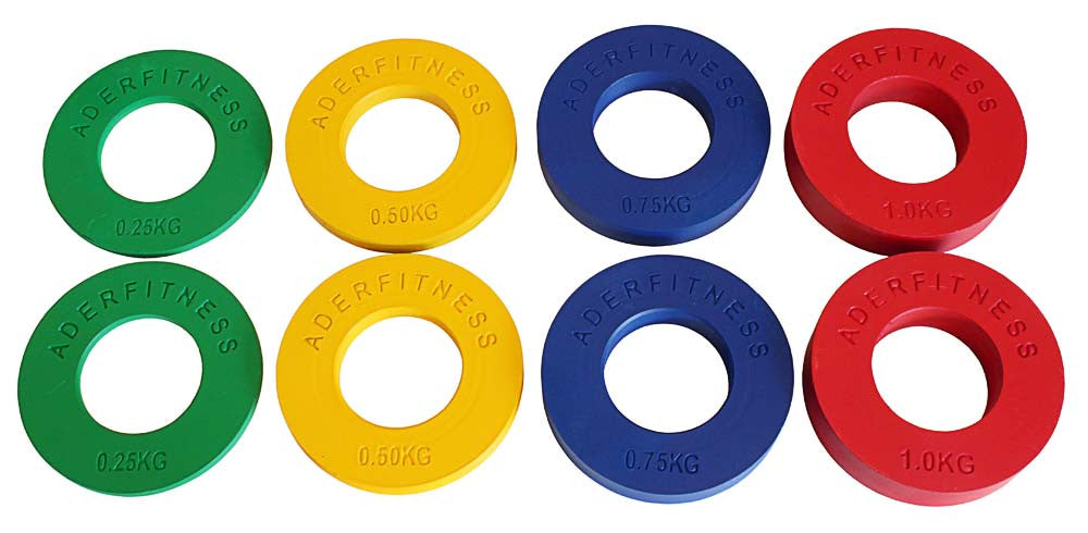 Ader Olympic Fractional Change Plate Sets - Bumpers & Metal Plates - MaxWOD Fitness