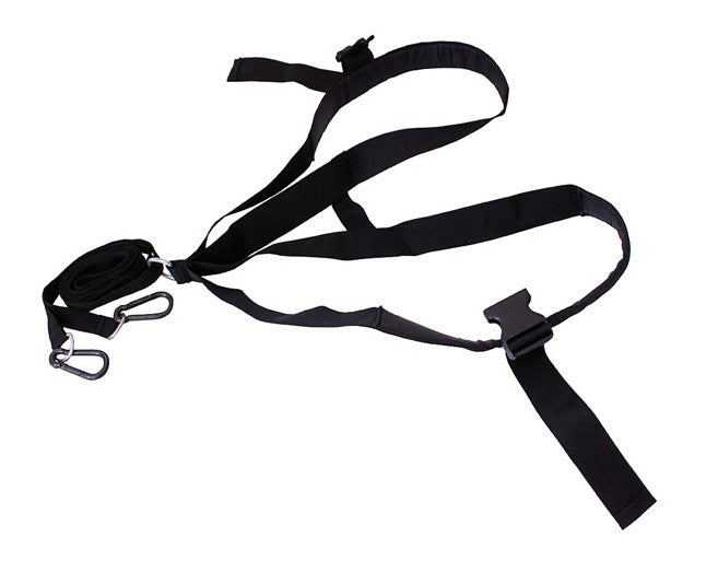 Shoulder Straps w/ Harness & Dual Hooks for Sled Pulls - Conditioning - MaxWOD Fitness - 1