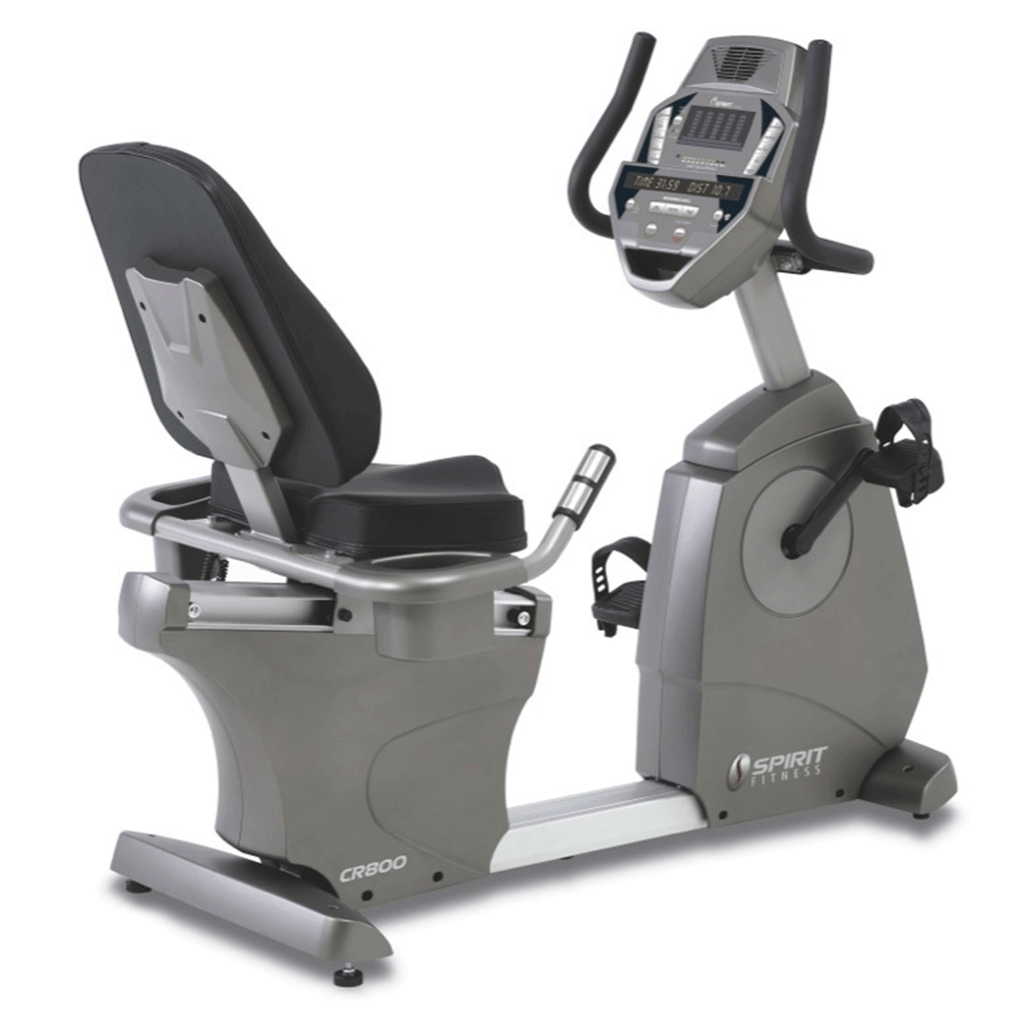 Spirit Fitness CR800 Commercial Recumbent Bike. Free Shipping! - Cardio Equipment - MaxWOD Fitness - 1