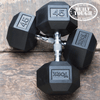 MaxWod 250 Member Set: York Rubber Hex Dumbbells - Dumbbells - MaxWOD Fitness - 1