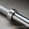 York Chrome Weightlifting Bars (Free Shipping) - Weightlifting & Olympic Bars - MaxWOD Fitness - 3