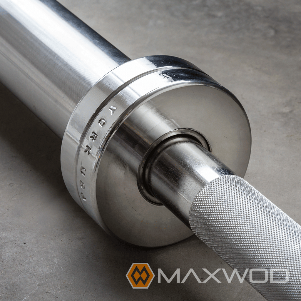 York Chrome Weightlifting Bars (Free Shipping) | MaxWOD Fitness