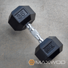 York Rubber Hex Dumbbell (Choose your own Sets KGS/LBS) - Dumbbells - MaxWOD Fitness - 2